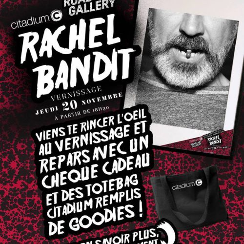 Rachel Bandit exposition Road art gallery